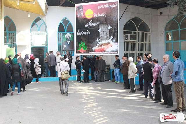 گروه قائمشهر تلگرام رأیگیری در شعب اخذ رأی شهرستان قائمشهر /تصاویر