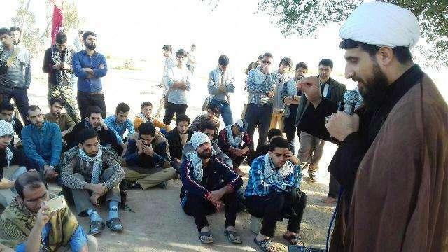 گزارش تصویری/ دانشجویان دانشگاه مازندران در سرزمینهای نور