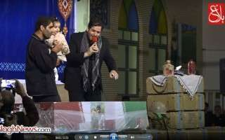 وداع «دردانهی بابا» با فدایی دمشق+فیلم