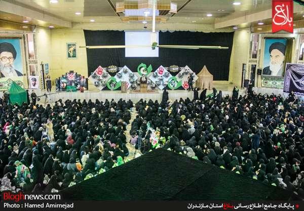 همایش شیرخوارگان حسینی در قائمشهر