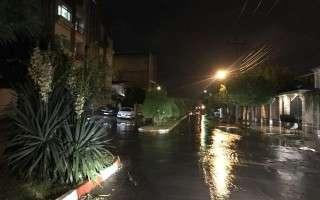 ثبت بیشترین بارش مازندران در آمل