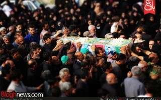 تشییع پیکر شهید «مهدی شریعتی» پس از 31 سال در بهشهر