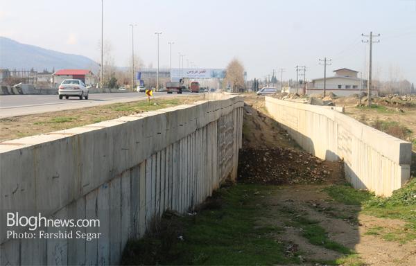تصویر مربوط به بهمن ماه سال 96 دو سال بعد از احداث پروژه میباشد