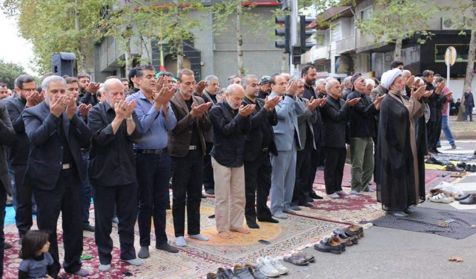 نماز ظهر عاشورا در دیار علویان اقامه شد