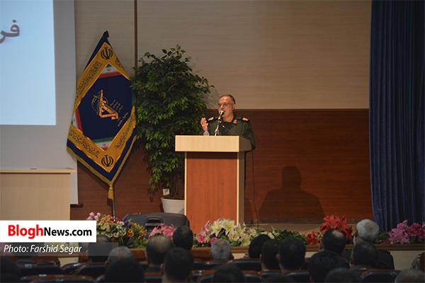 n00428052 r b 004 - مراسم تکریم و معارفه فرمانده جدید سپاه کربلا مازندران برگزار شد