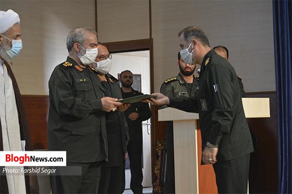 n00428052 r b 024 - مراسم تکریم و معارفه فرمانده جدید سپاه کربلا مازندران برگزار شد