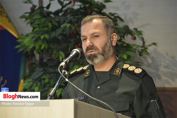 n00428052 r b 030 - مراسم تکریم و معارفه فرمانده جدید سپاه کربلا مازندران برگزار شد