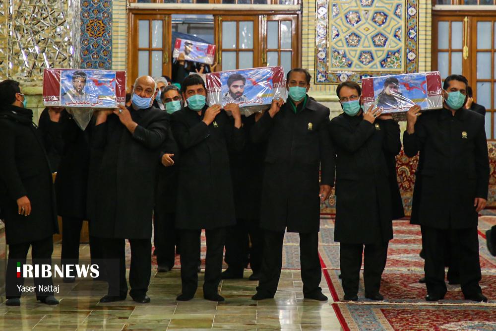 n00439294 r b 000 - تصاویر/ شهدای خان طومان در جوار حرم رضوی