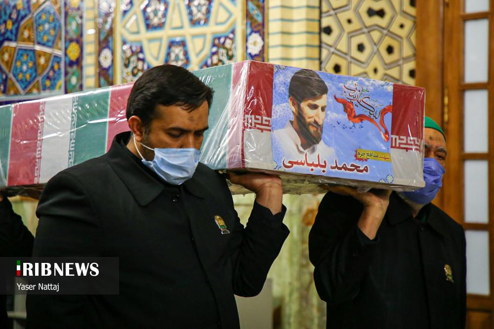 n00439294 r b 001 - تصاویر/ شهدای خان طومان در جوار حرم رضوی