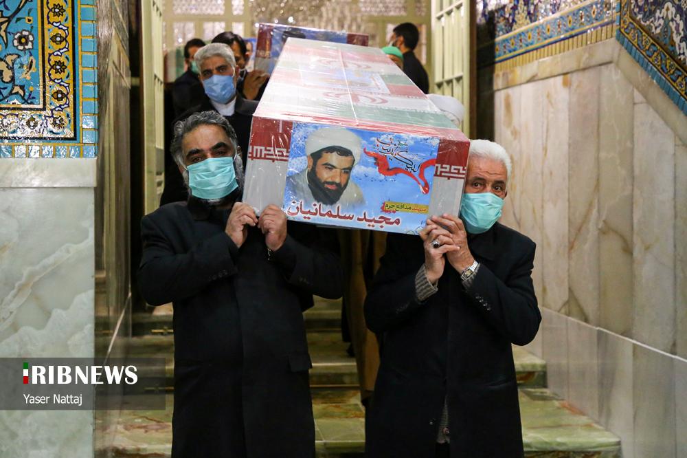n00439294 r b 004 - تصاویر/ شهدای خان طومان در جوار حرم رضوی