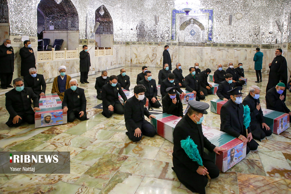 n00439294 r b 008 - تصاویر/ شهدای خان طومان در جوار حرم رضوی