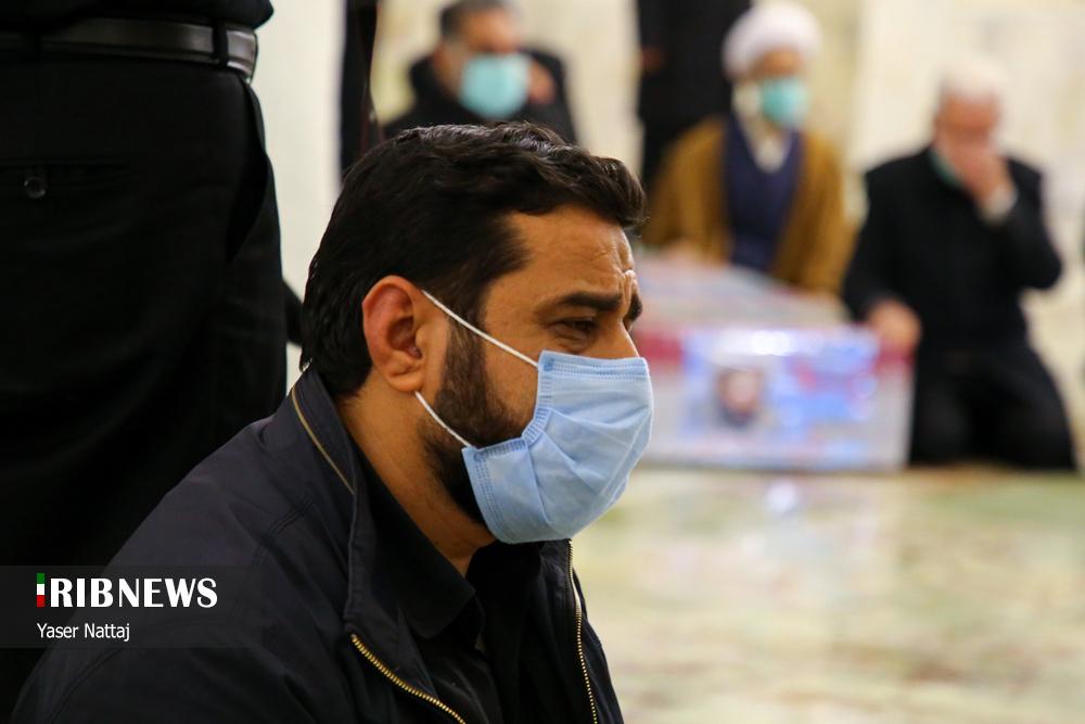 n00439294 r b 009 - تصاویر/ شهدای خان طومان در جوار حرم رضوی