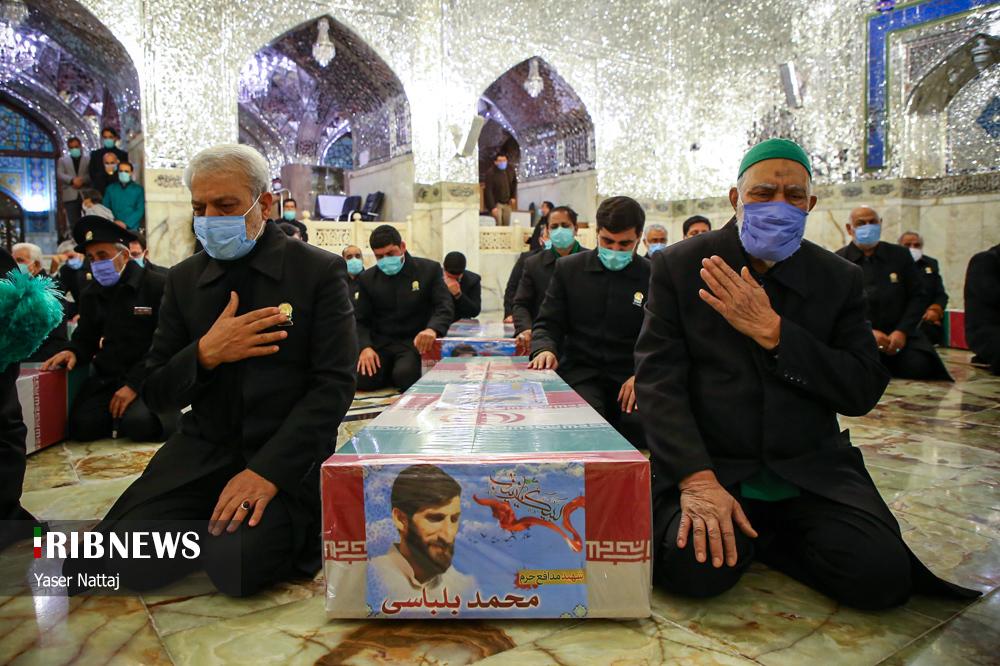 n00439294 r b 010 - تصاویر/ شهدای خان طومان در جوار حرم رضوی