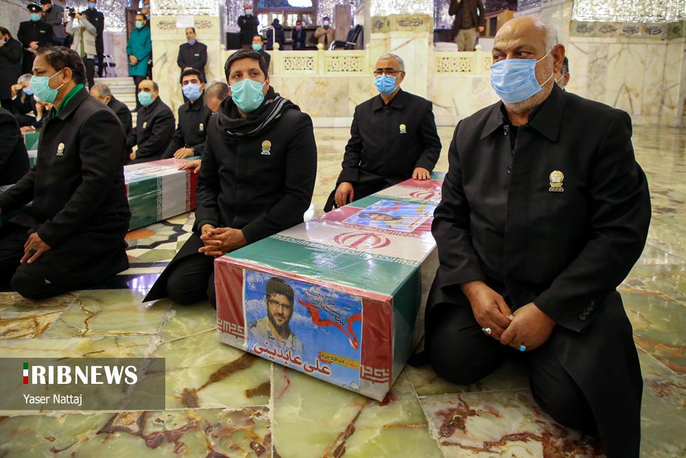 n00439294 r b 011 - تصاویر/ شهدای خان طومان در جوار حرم رضوی