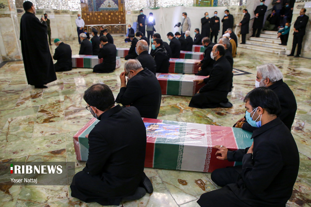 n00439294 r b 012 - تصاویر/ شهدای خان طومان در جوار حرم رضوی