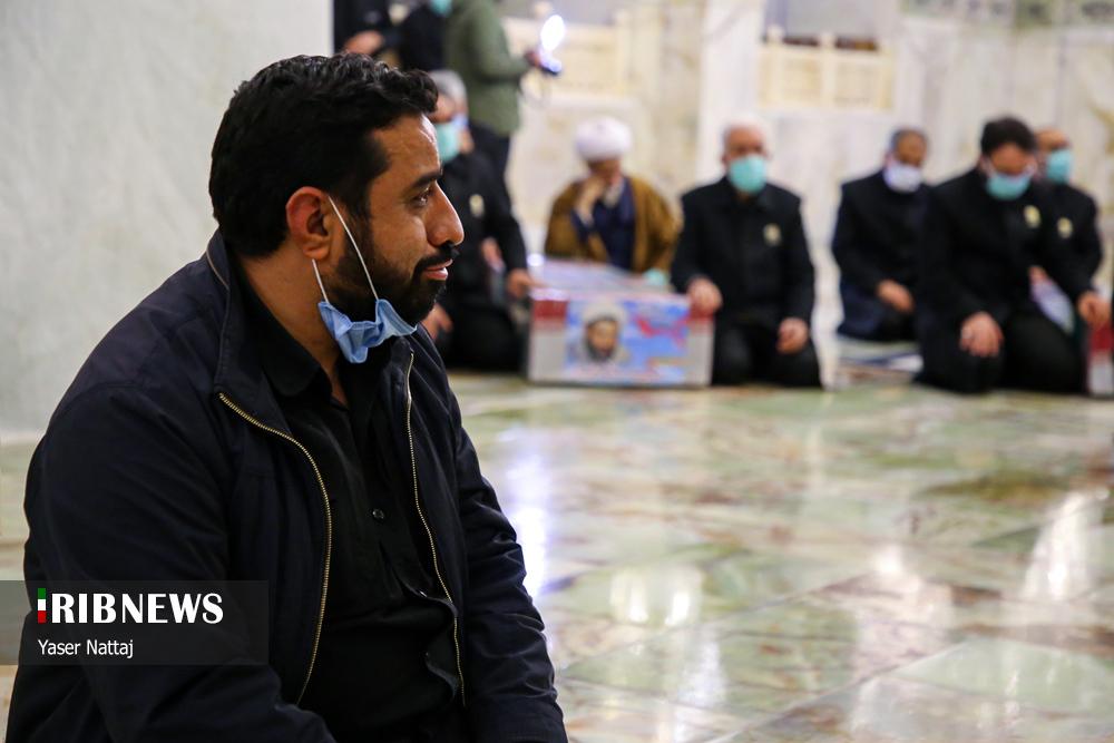 n00439294 r b 013 - تصاویر/ شهدای خان طومان در جوار حرم رضوی