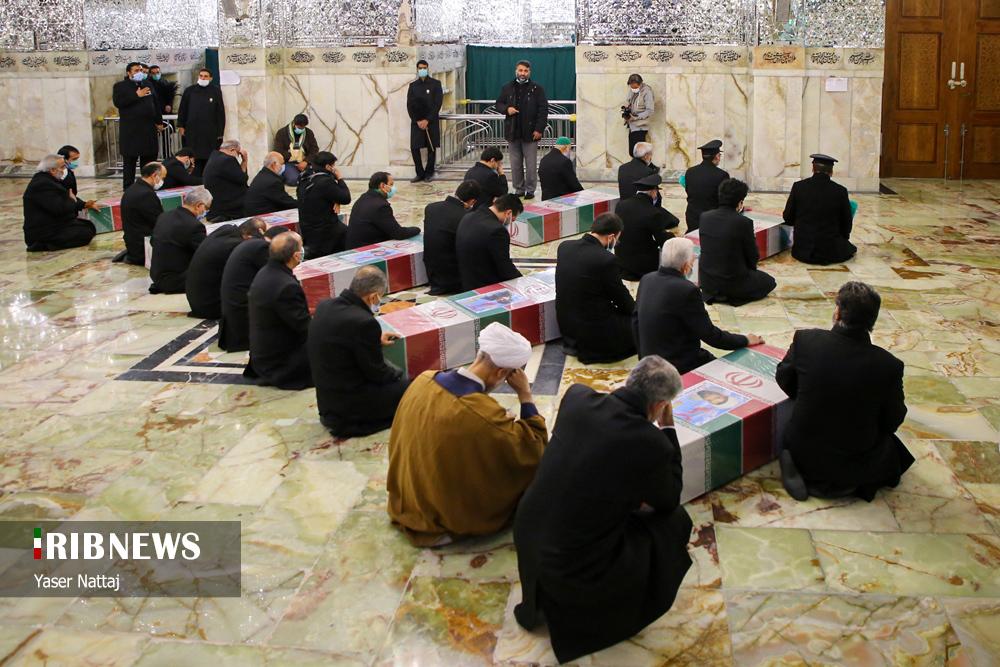 n00439294 r b 015 - تصاویر/ شهدای خان طومان در جوار حرم رضوی