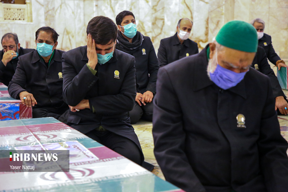 n00439294 r b 016 - تصاویر/ شهدای خان طومان در جوار حرم رضوی