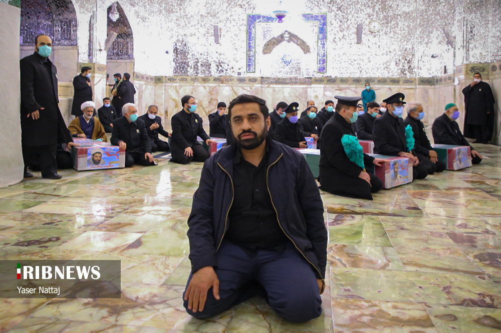 n00439294 r b 017 - تصاویر/ شهدای خان طومان در جوار حرم رضوی