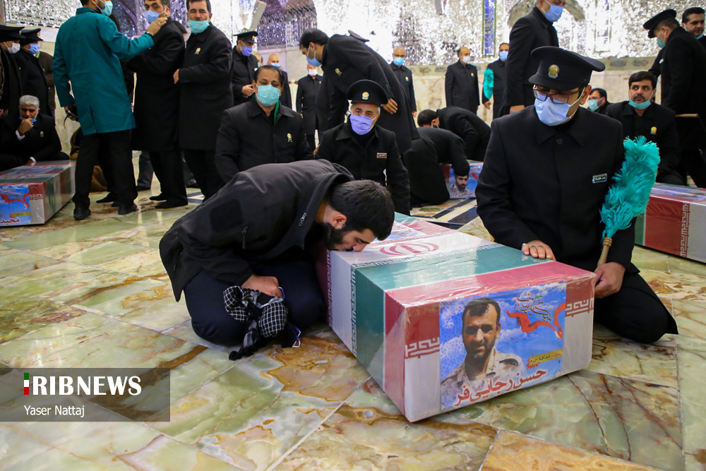 n00439294 r b 020 - تصاویر/ شهدای خان طومان در جوار حرم رضوی