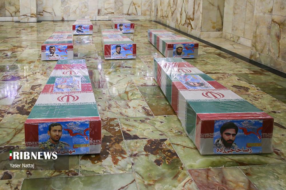 n00439294 r b 021 - تصاویر/ شهدای خان طومان در جوار حرم رضوی