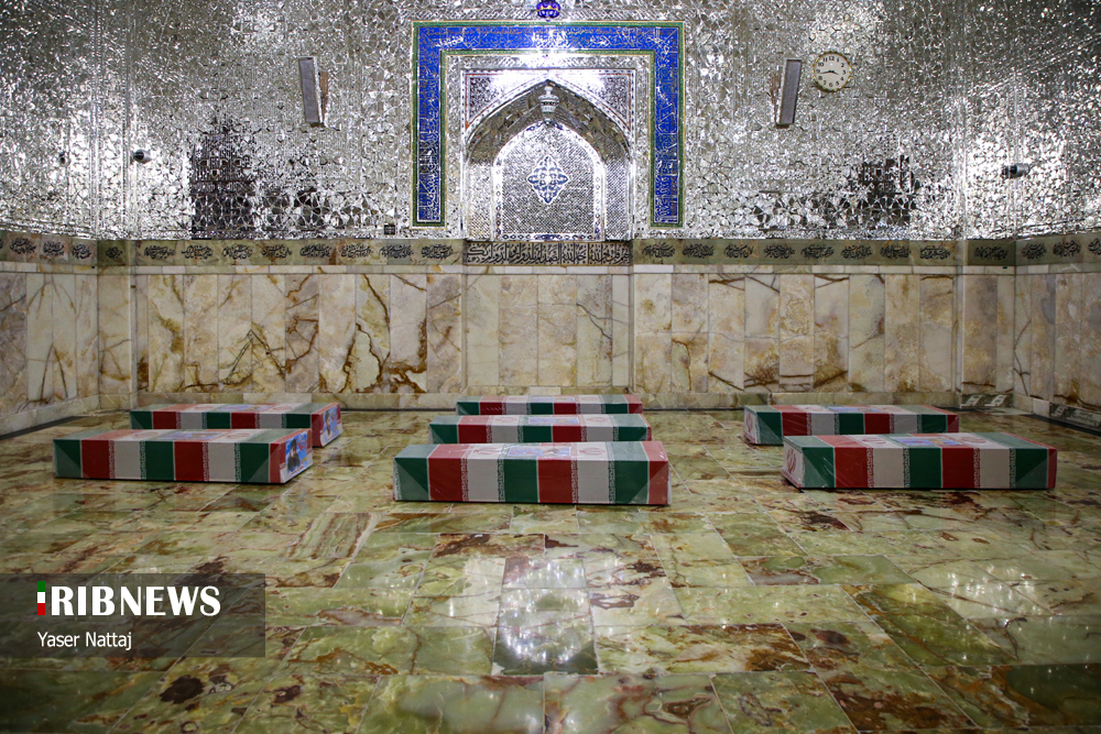 n00439294 r b 022 - تصاویر/ شهدای خان طومان در جوار حرم رضوی