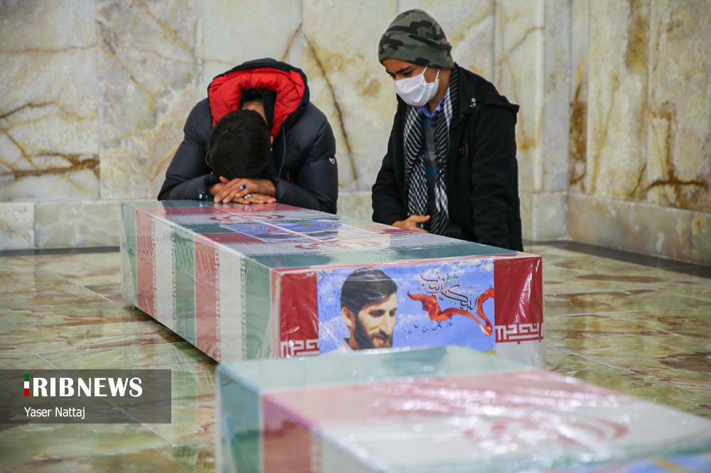 n00439294 r b 023 - تصاویر/ شهدای خان طومان در جوار حرم رضوی
