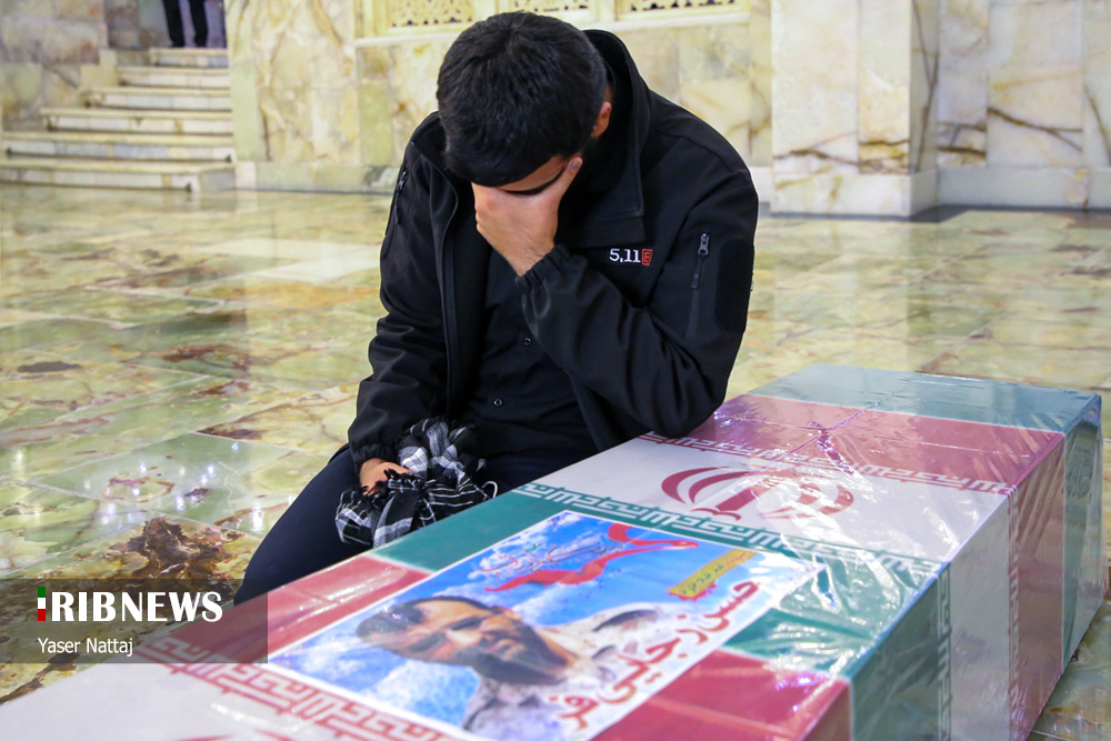 n00439294 r b 024 - تصاویر/ شهدای خان طومان در جوار حرم رضوی