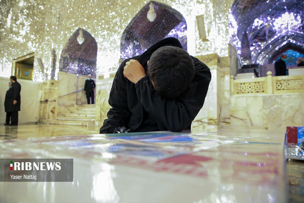 n00439294 r b 025 - تصاویر/ شهدای خان طومان در جوار حرم رضوی