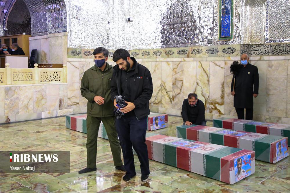 n00439294 r b 026 - تصاویر/ شهدای خان طومان در جوار حرم رضوی