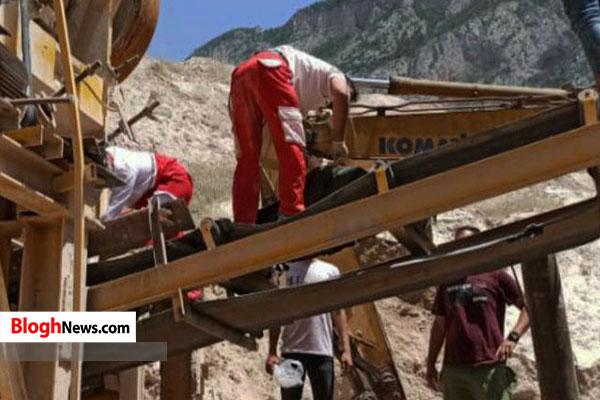 حادثه مرگبار در کارگاه سنگشکن سوادکوه+تصاویر