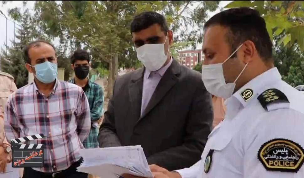 پیگیری مشکلات متقاضیان گواهینامه رانندگی در فریدونکنار
