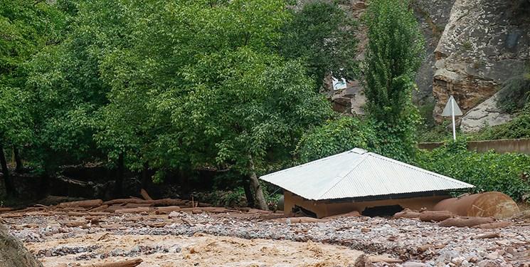 خسارت بارندگی صبح امروز به ۸ واحد مسکونی در زیراب سوادکوه