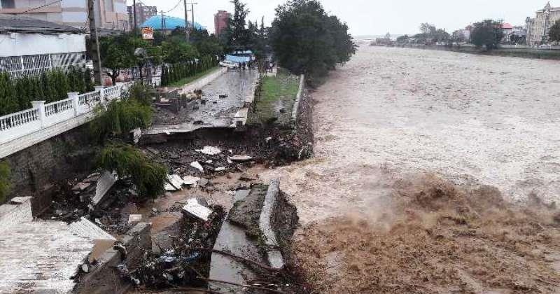 آبگرفتگی و خسارت بارندگی اخیر به ۲۰ واحد مسکونی در زیراب