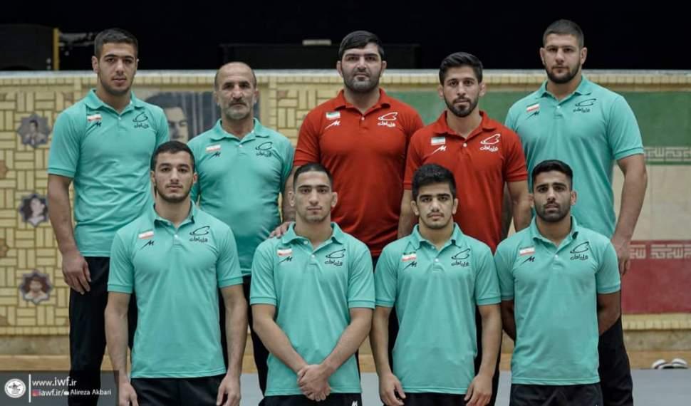 سفر تیم منتخب کشتی آزاد ایران به جام مدوید-بلاروس