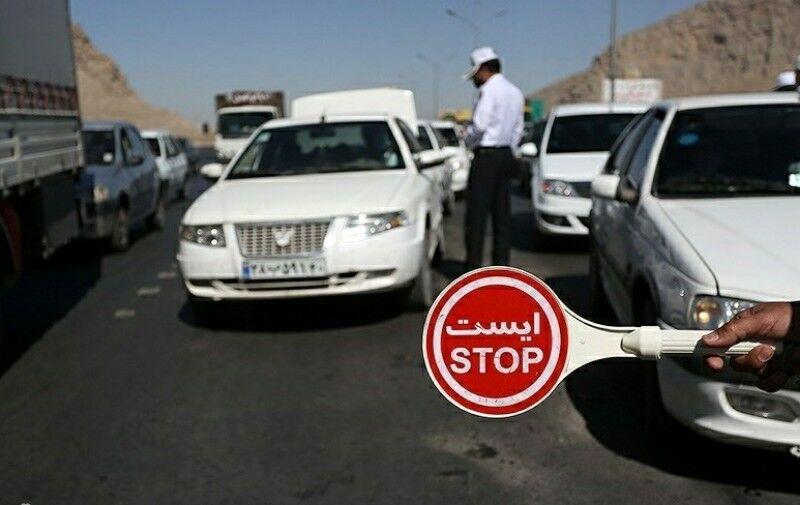 جریمه کرونایی ۱۱۱ هزار خودرو در محورهای مازندران