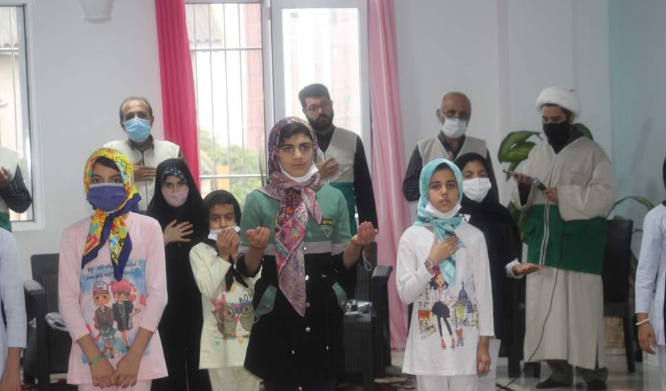 نیروهای جهادی آستان قدس بیادعا در مسیر کمک به محرومان