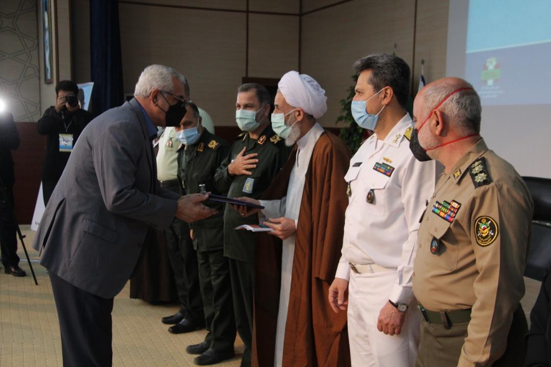 تجلیل از ۱۴ پیشکسوت دفاع مقدس مازندران
